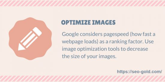 Optimize Images SEO Tip
