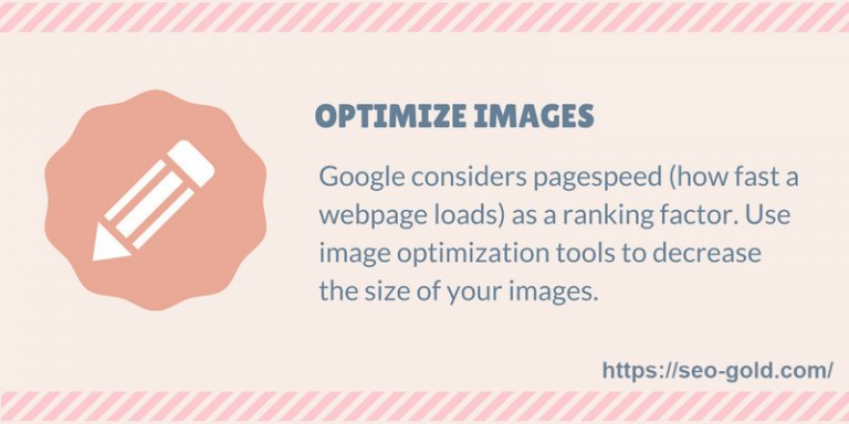 Optimize Images SEO Tip