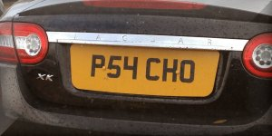 P54CHO Car Number Plate