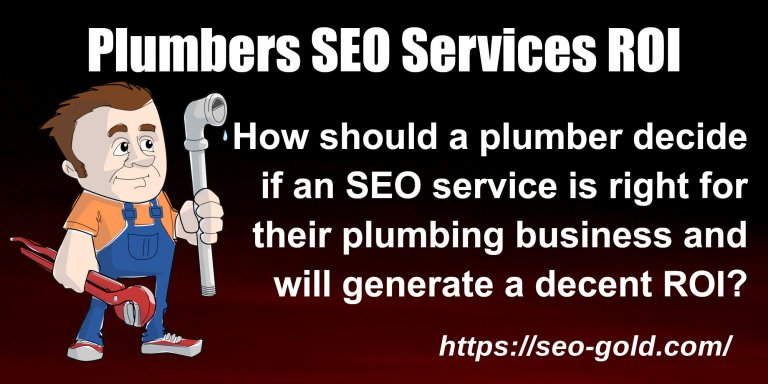 Plumbers SEO Services ROI