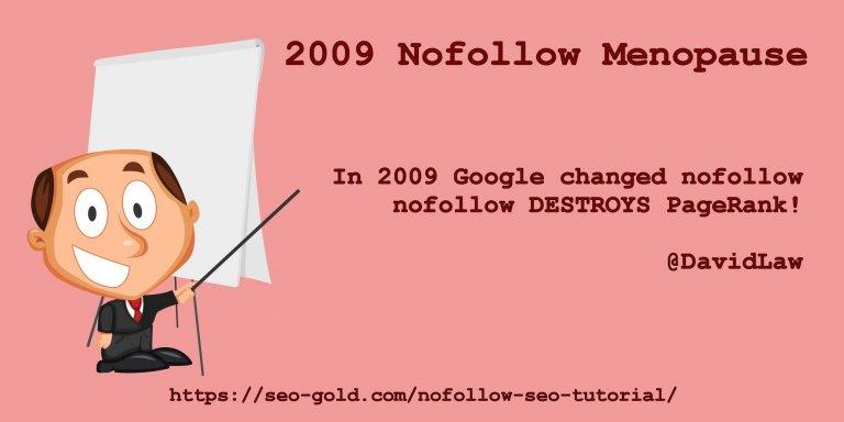 Nofollow Destroys Link Benefit