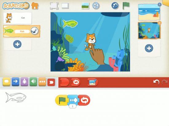 ScratchJr Visual Programming Language App