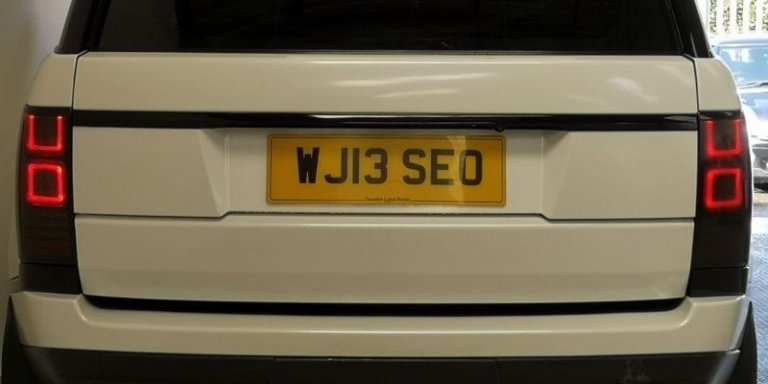 SEO Car Number Plate