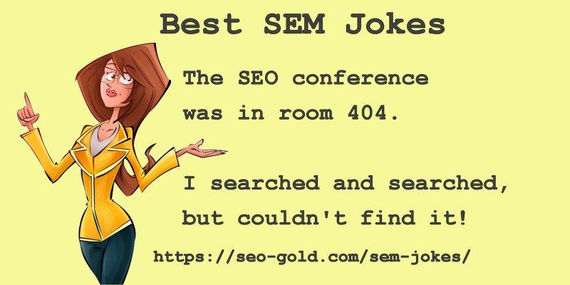 SEO Conference Room 404 Joke