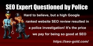 SEO Expert Questioned by Police