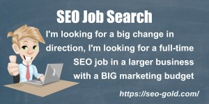 SEO Job Search