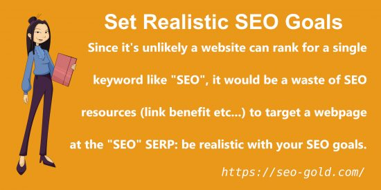 Set Realistic SEO Goals
