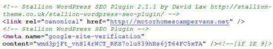 Stallion SEO Plugin Canonical URL