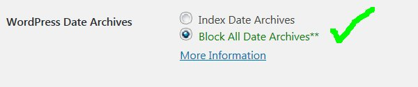 Stallion WordPress SEO Not Index Dated Archives