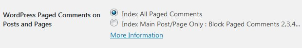 Stallion WordPress SEO Plugin Not Index Paged Comments Options