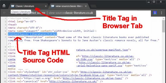 Title Tag HTML