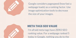 Top 5 SEO Tips Free Infographic