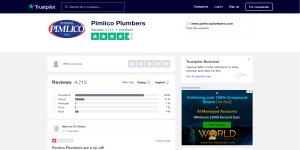 Trustpilot Pimlico Plumbers Reviews