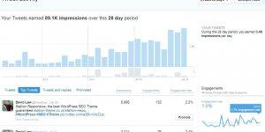 Twitter Analytics Tweet Activity Statistics