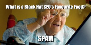 What is a Black Hat SEO's Favourite Food MEME