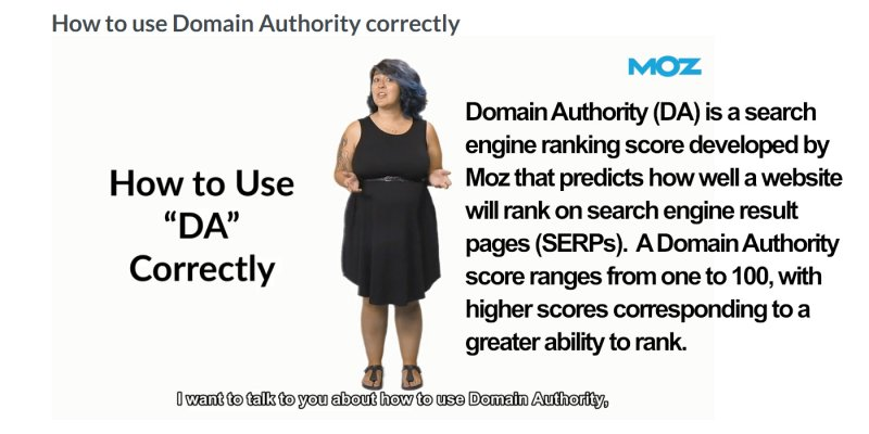 What is Domain Authority (DA)?