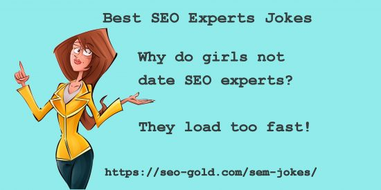 Why Do Girls Not Date SEO Experts Joke