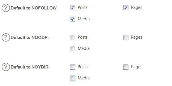 WordPress All In One SEO Plugin Bad Options