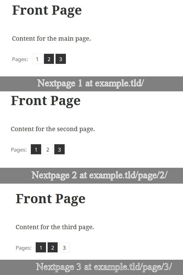 WordPress NextPage Feature