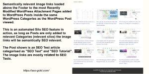 WordPress Silo SEO Semantic Links Plugin