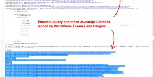 WordPress Themes and Plugins Adding Bloated Jquery Javascript Libraries