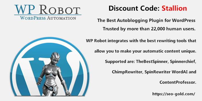 WP Robot Review + Coupon Code